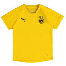 Maillot de football de club étranger jaunes enfants
