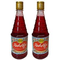 Hamdard Rooh Afza Sharbat x 2 Rose Flavoured Sarbat Syrup 800ml Eid Mubark Drink