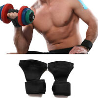 Fitness Gloves Health Training Wrist Wrap Workout Weight Gym Sports Lifting Grip