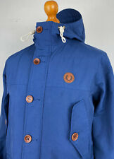 Fred Perry | Fleece Lined Wadded Mountain Parka Jacket S|M (Blue) Mod Scooter