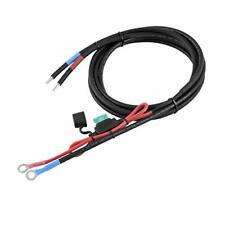 Câble de la batterie plomb Assemblée Noir 35 mm² étamé 25 cm à 6 m-Marine Winch solaire