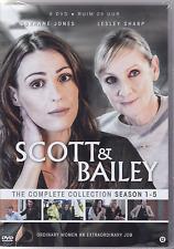 SCOTT & BAILEY - COMPLETE SERIES 1 2 3 4 5  - DVD - PAL Region 2