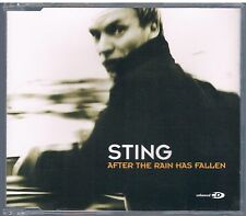 STING (THE POLICE) AFTER THE RAIN HAS FALLEN CD SINGOLO cds SINGLE
