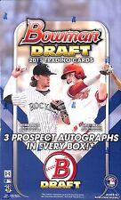 2015 Bowman Draft Jumbo Sealed Hobby Box 12 packs 32 cards per pack