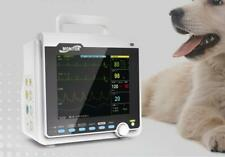 Contec Veterinary Patient Monitor Vital Signs Multiparameter Icu Vet Ecg Machine