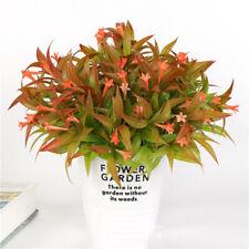 6Pcs Plantas Flores Artificiales Morning Glory arbustos paquetes Plantas Imitación