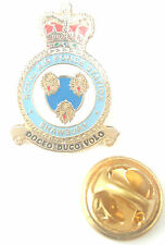 RAF Shawbury Crest Enamel Lapel Pin Badge