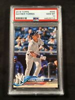 2018 TOPPS SERIES 2 #699 GLEYBER TORRES RC ROOKIE NY YANKEES PSA 10 GEM MINT!