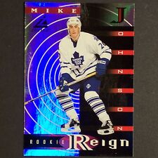 MIKE JOHNSON 1997/98 Zenith Rookie Reign #12 of 15 Toronto Maple Leafs RC Single