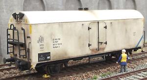 Kühlwagen Neuheit von Tillig, nach Vorbild patiniert, Unikat