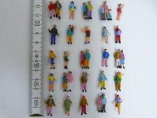 200 Figuren zu Spur H0 stehend + 100 Figuren H0 sitzend 1:87 NEU Konvolut Set