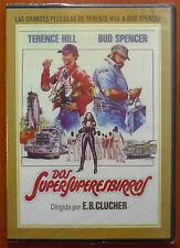 Dos SuperSuperEsbirros (Nati con la camicia)[DVD caja fina] Hill & Spencer NUEVO