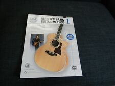 Alfred's Basic Guitar Method Book 1 Third Edition - Book and Online Audio New!~