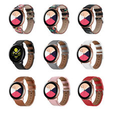 For Samsung Galaxy Watch Active Genuine Leather Wrist Band Strap Replacement