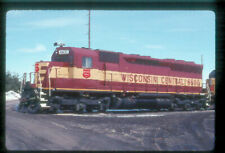 WC 6600 SD-45 (WISCONSIN CENTRAL) --- Original Slide T6-8