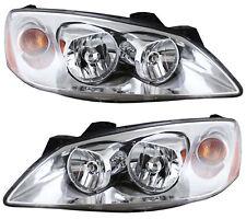 New Depo Driver Amp Passenger Side Nsf Headlight Set For 05 10 Pontiac G6 Fits Pontiac G6