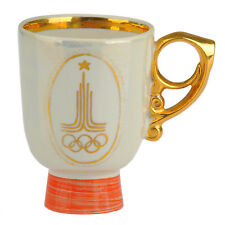 Porcelain mug of the Olympiad 80 -the original. Moscow, USSR, Olympic Games 1980