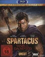 SPARTACUS WAR OF THE DAMNED DIE KOMPLETTE SEASON 3 UNCUT - Blu-Ray