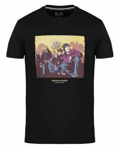 Weekend Offender Men's Fools Gold T-shirt Black - The Stone Roses, Ian Brown