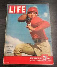 LIFE Magazine: Doak Walker Cover, September 27th 1948