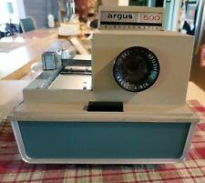 Vintage Argus 500 Automatic Slide Projector Model 58