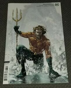 AQUAMAN #66 (2021) Cover B Variant Endless Winter Part 4 DC Andy Curry Aquagirl