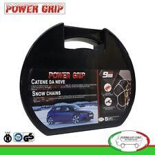 Catene da Neve Power Grip 9mm Gruppo 130 gomme 195/55r20 per Renault Scenic