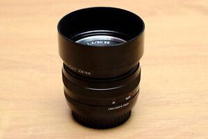 Zeiss Planar T* 50mm F/1.4 ZE Camera lens for Canon EOS EF 5D 1D Full Frame DSLR