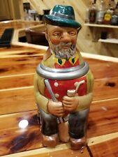 Vintage Reinhold Merkelbach Figural .5 L Beer Stein.  Made in Germany.