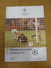 01/10/1997 Manchester United v Juventus [Champions League] (Marked). Item in ver