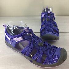 Womens KEEN whisper sandals waterproof hiking sport purple Size 5 EU 37