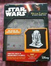 Star Wars R2-D2 Disney 3D METAL EARTH Model Kit -  BNIB