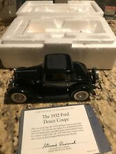 FRANKLIN MINT 1932 FORD DEUCE COUPE V-8 1:24 SCALE