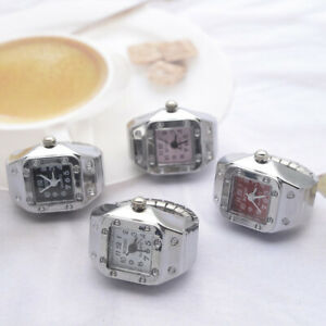Watch Ring Ladies Men Cool Finger Watch Ring For Woman Fashion Jewelry Gift