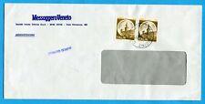 CASTELLI £.10 COPPIA tariffa ESTRATTO CONTO EDITORI (270037)