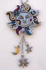 r CELESTIAL SUN moon star burst color CAR MIRROR CHARM REARVIEW ornament ganz