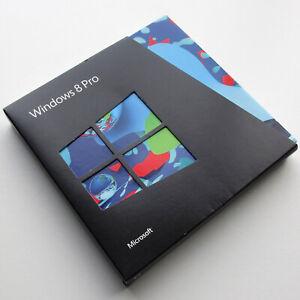 Microsoft Windows 8 Pro, UK Retail Upgrade box, 32 and 64 bit DVD's