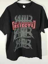All-American Rejects Rock Band 2009 Battle of the Bands Tour T-Shirt Size XL