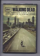 The walking Dead Complete First Season 2 disc set