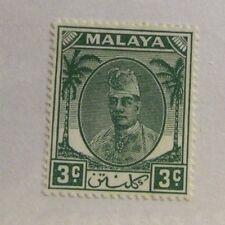 MALAYA  Sc #52 * MH postage stamp, Fine +