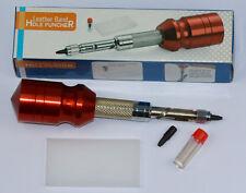 Herramienta Perforadora fácil para correas de reloj de cuero hebilla correa de bandas de hacer agujeros