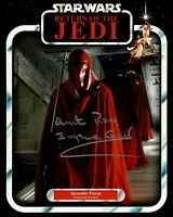 QUENTIN PIERRE signed Autogramm 20x25cm STAR WARS In Person autograph COA