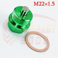 M20X1.5 ENGINE COVER MAGNETIC OIL PAN DRAIN PLUG BOLT M20 CRUSH BRASS WASHER BK2