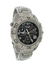 Sector New Chrono - Alarm  Stainless Steel Men's Watch 2653972325 - Retail $815