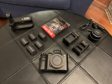 Sony Alpha A7 II - w/ 35mm 2.8f Lens, 5 Batteries, Battery Grip, 64GB SD CARD