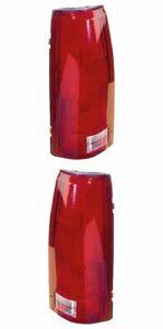 Tail Light For GM2801104 88-02 92-00 Chevy GMC Blz/Tah/Yuk/Sub Pair W/Cp NSF