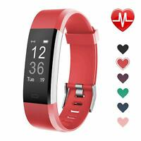 LETSCOM Fitness Tracker HR, Activity Tracker Watch with Heart Rate Monitor - USA