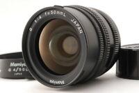 【EXC+5 + Hood 】 Mamiya G 50mm F4 L Wide Angle Lens New Mamiya 6 From JAPAN i67