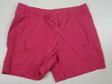 Dorothy Perkins Cotton Patternless Mid Rise Shorts for Women