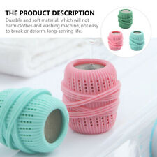 3Pcs Multicolour Laundry Washing Ball Anti-knot for Machine Wash and Dry Fabric